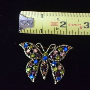 Vintage WEISS butterfly brooch/pin
